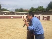 Quentin remporte le prix de la jolie capea de Grenade sur l'Adour...