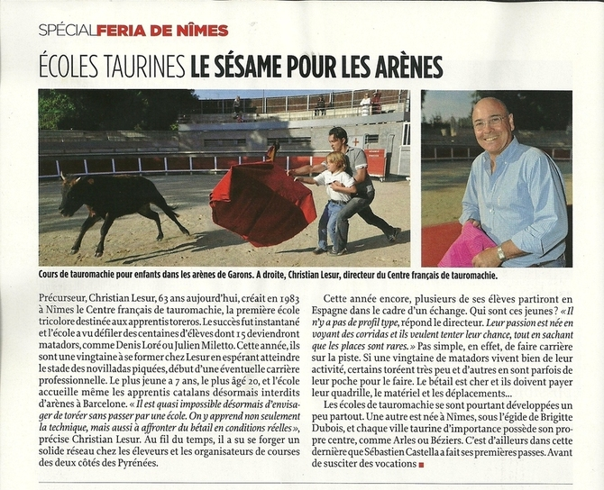 On parle de nous dans un media national !!!