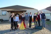 Le beau voyage de Noël des élèves du Centre Français de Tauromachie...