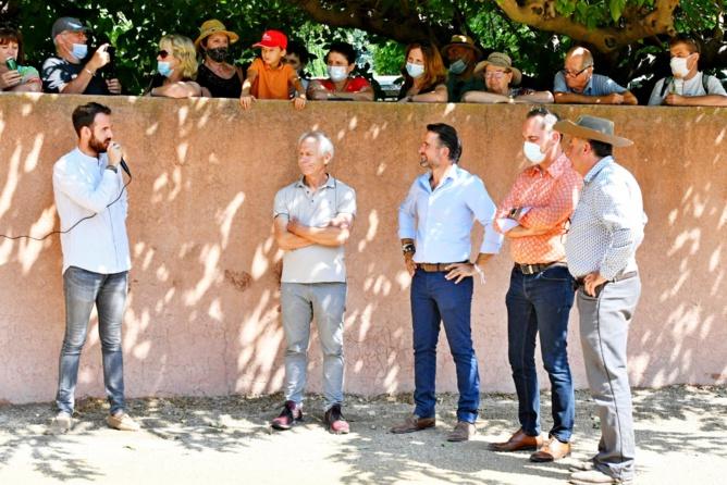 Tienta d'inauguration du Bolsín Nîmes Métropole 2021 à la Ganadéria La Paluna