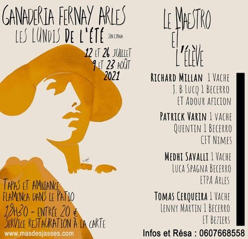 Ganaderia Fernay en Arles