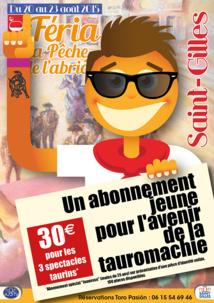 Feria de la Pêche et de l'Abricot 2015: Abonnement jeune