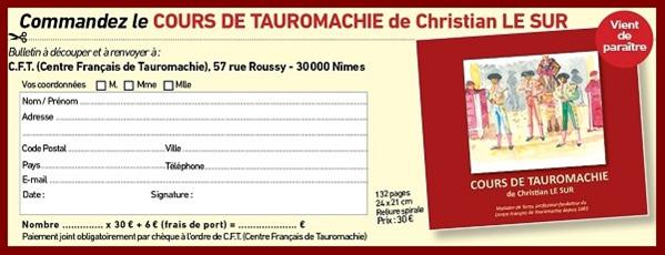 """Soirée de Présentation du """"Cours de Tauromachie"""" de Christian LE SUR..."""