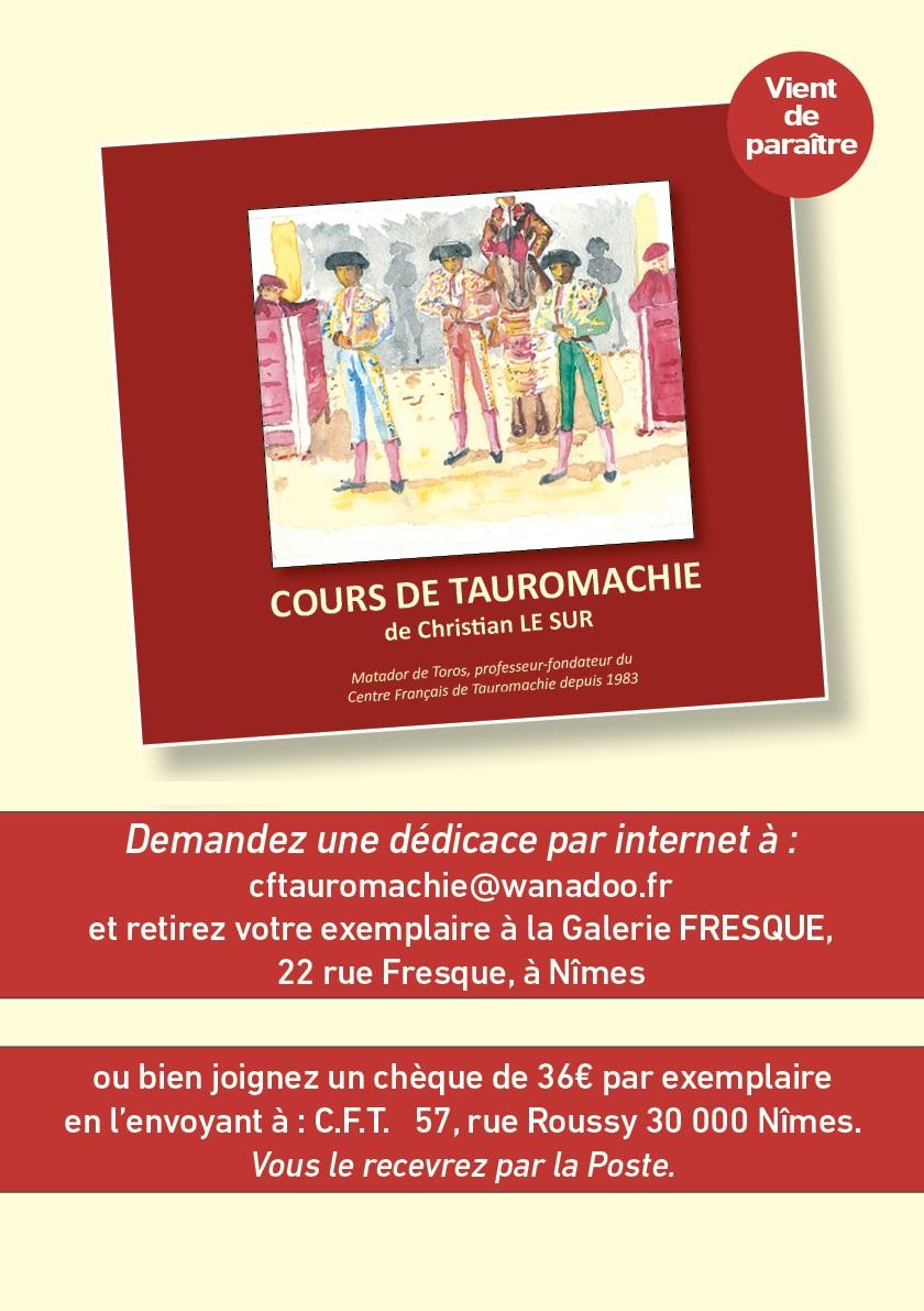 Cours de Tauromachie...