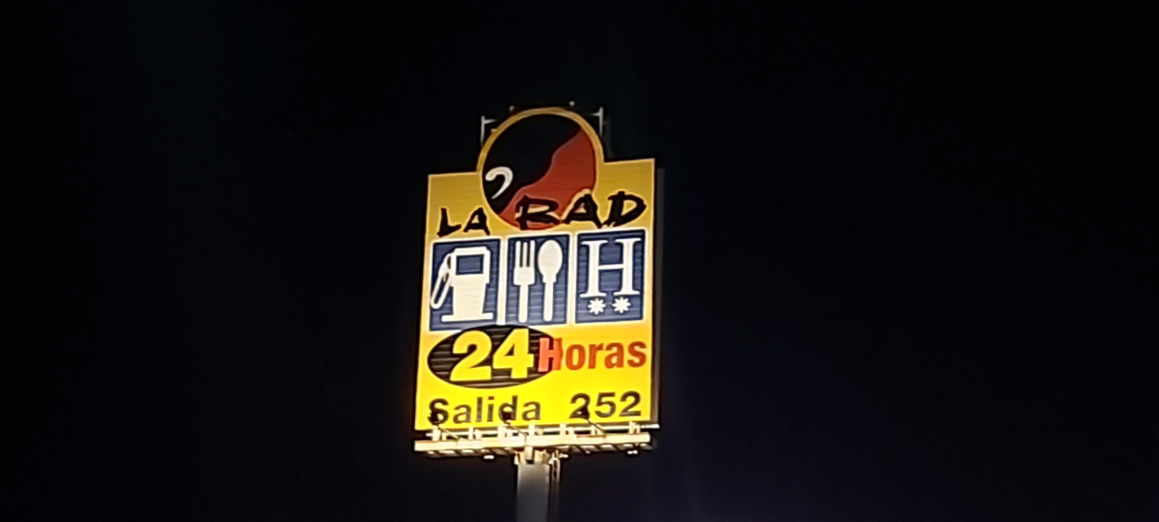 La Rad avec le logo en forme de muleta