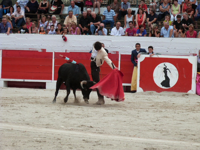 Tomas Ubeda vainqueur du Bolsin de Chateaurenard...
