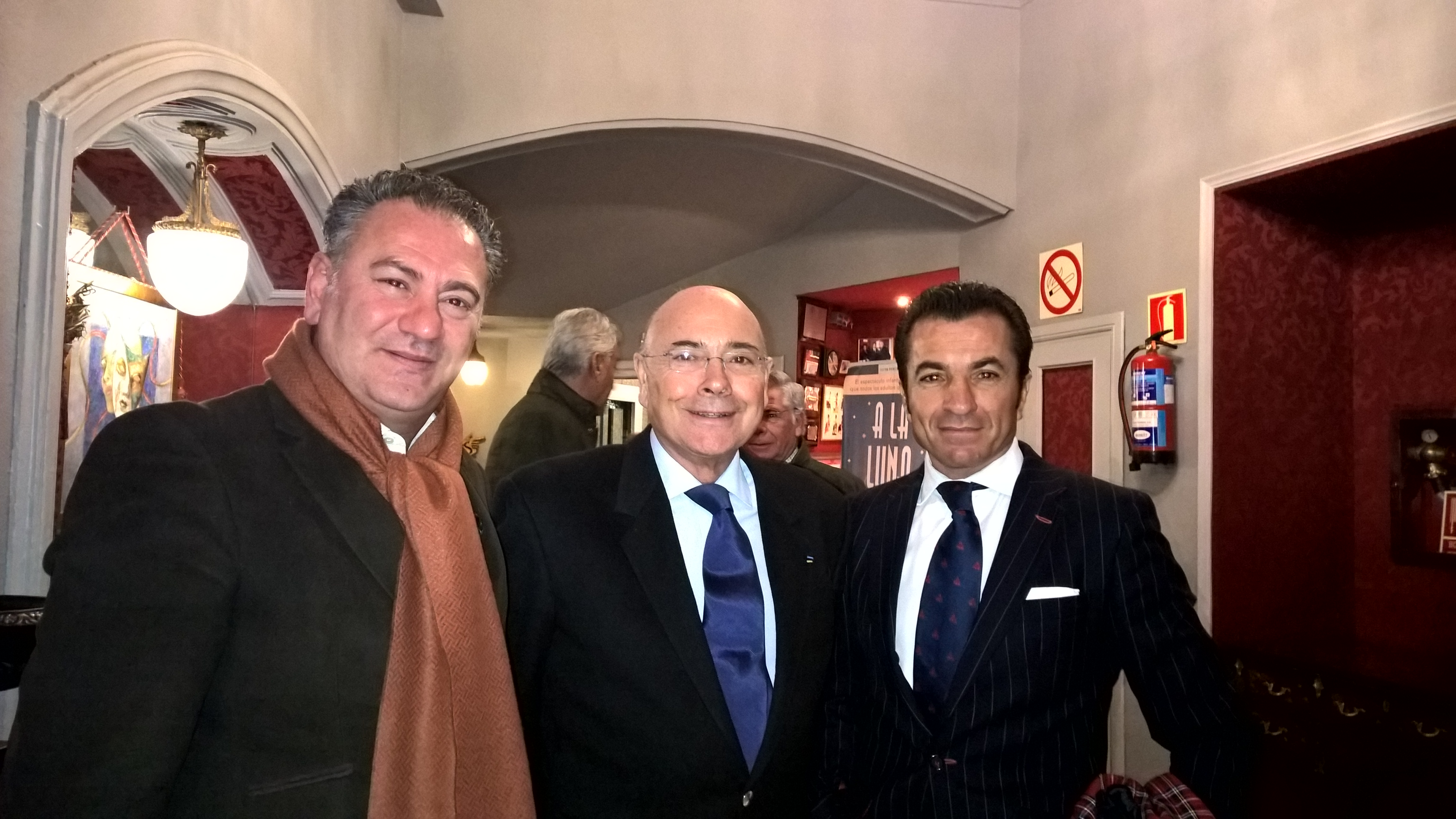Rencontres à Madrid