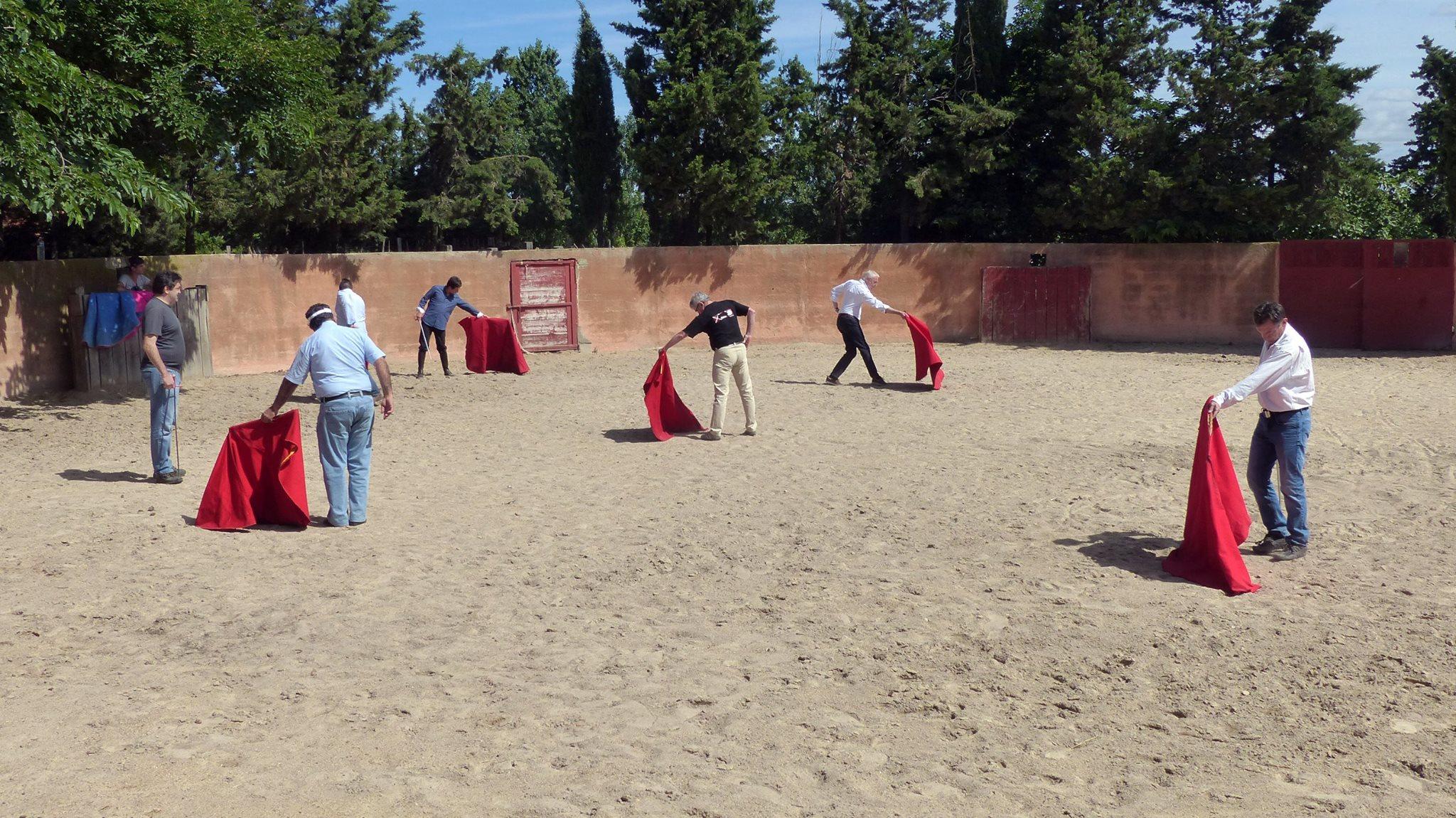 Un heureux évènement dans le Mundillo Nîmois: pour la première fois, le CFT et les  Aficionados Practicos, la main dans la main !