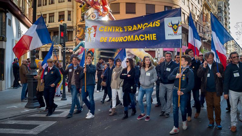Manifestation à Valencia le 13 mars 2016