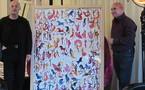 L'artiste Jean-Pierre FORMICA offre une œuvre originale au CENTRE FRANÇAIS